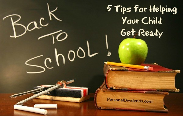 5 Tips for Helping Your Child Get Ready for Back to School