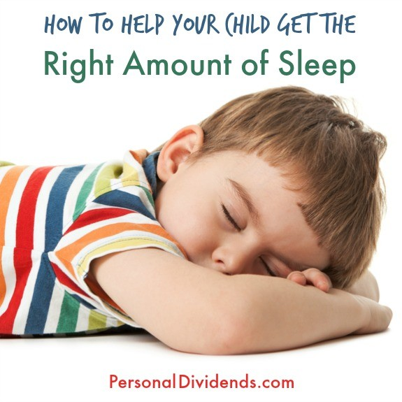 How to Help Your Child Get the Right Amount of Sleep
