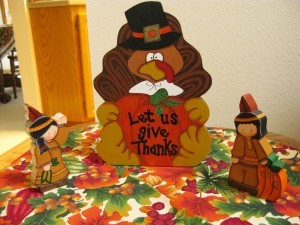 Thanksgiving - Let us give thanks