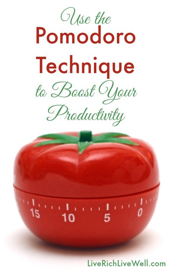Use the Pomodoro Technique to Boost Your Productivity