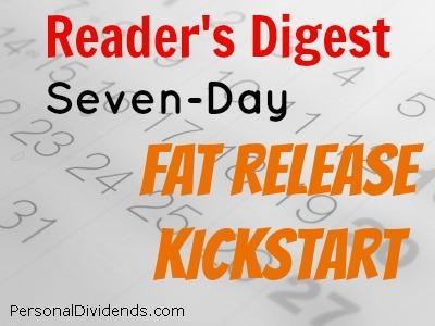 Reader's Digest Seven-Day Fat Release Kickstart