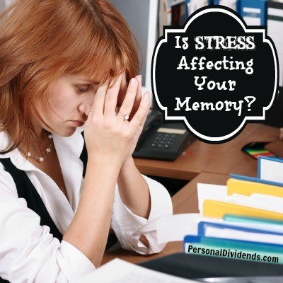 Is Stress Affecting Your Memory?