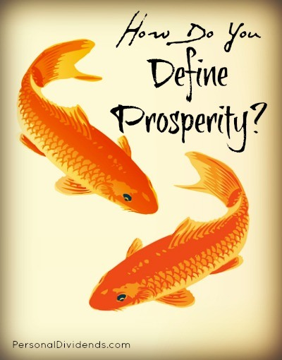 How Do You Define Prosperity?