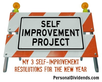 Self Improvement Project: My 3 Self-Improvement Resolutions for the New Year